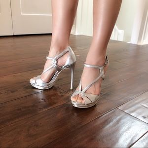 BCBG high heel shoes.